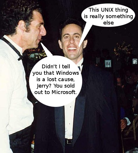 Michael Richards and Jerry Seinfeld