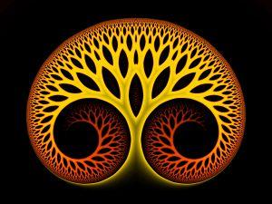 Self-absorb a tree