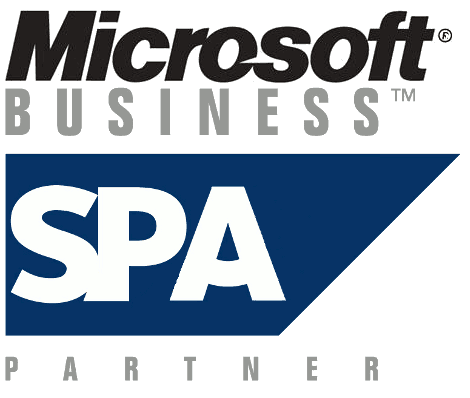 SAP logo for Microsoft business partner