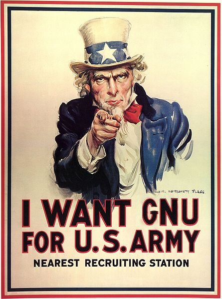 Uncle Sam wants GNU