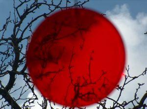 Japan in sky