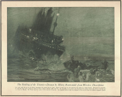 Reuterdahl - Sinking of the Titanic