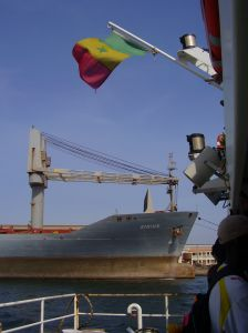 Ship in Dakar
