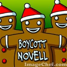 Boycott Novell men