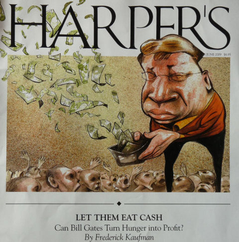 Gates at Harper's Magazine