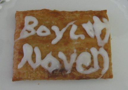 Boycott Novell food