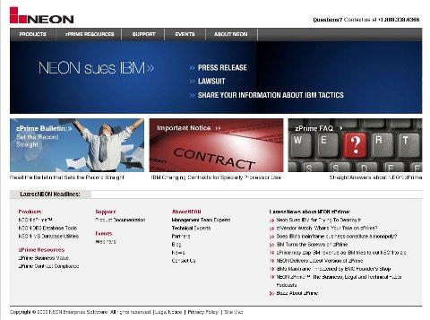 NEON Web site