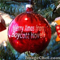 Xmas at Boycott Novell