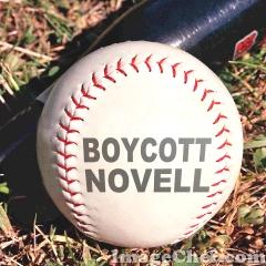 Boycott Novell baseball