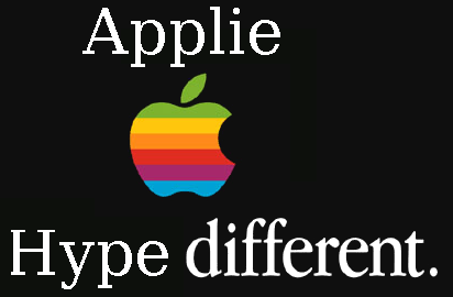 Apple logo - think different