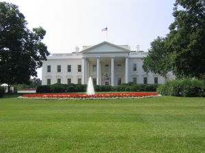 White House in daytime