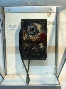 Rustic phone