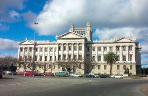 Palacio legislativo en montevi