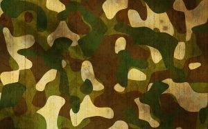 Rusty camouflage texture