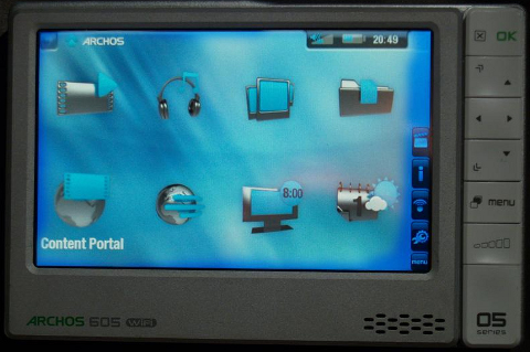 Archos 605 with WiFi