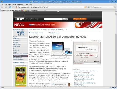 Microsoft BBC adverts