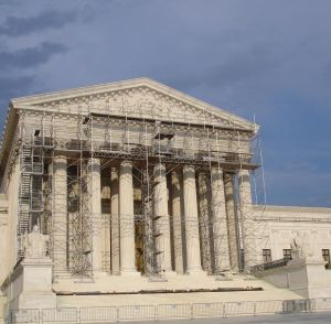 US Supreme Court under construction