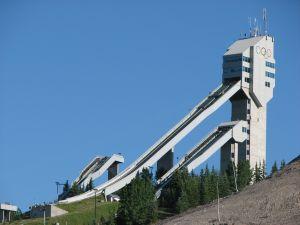 Olympic ski jump facility, Calgary