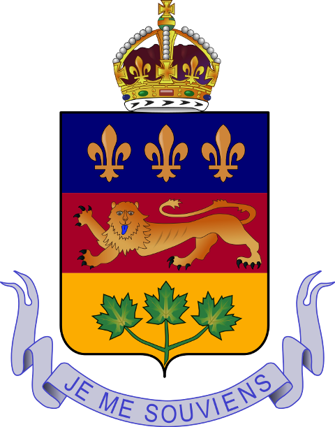 Coat of arms of Québec