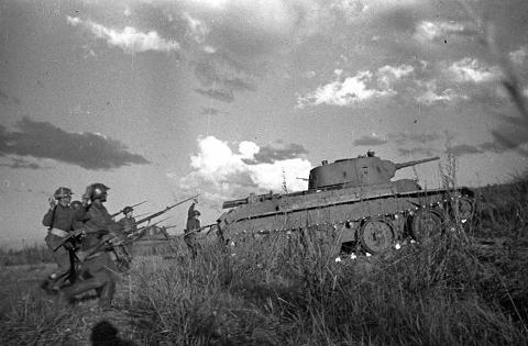 Khalkhin Gol Soviet offensive - 1939