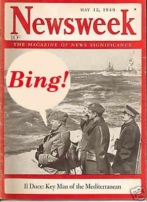 Mussolini says Bing