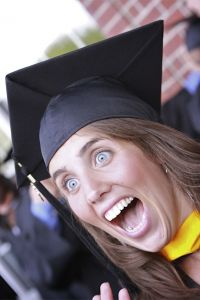 Excited graduate