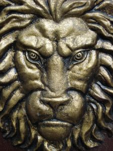Forged lion