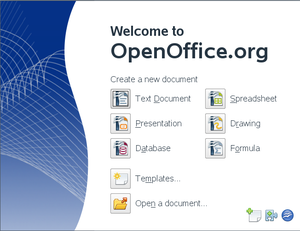 OpenOffice.org app chooser