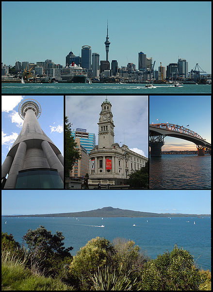 New Auckland montage