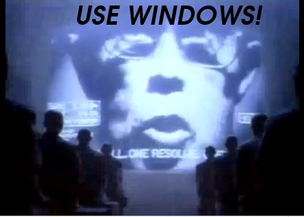 Windows in 1984