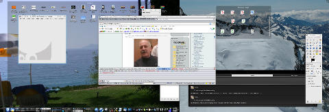 KDE 4.4 - small