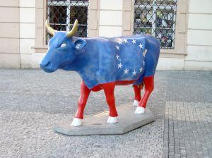 Prague cows