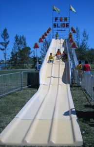Giant fun slide