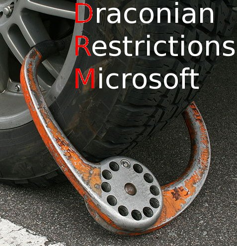 Draconian Restrictions at Microsoft