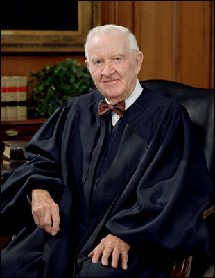 John Paul Stevens, SCOTUS photo - portrait