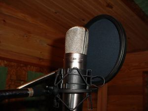 Microphone with cover