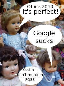 Microsoft dolls