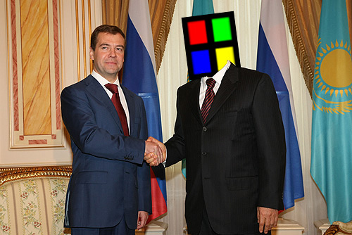 Medvedev and Windows