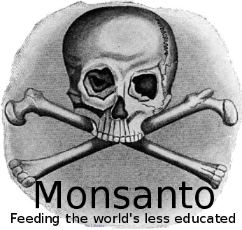 Monsanto - bones logo