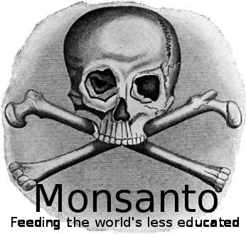 Monsanto - bones logo