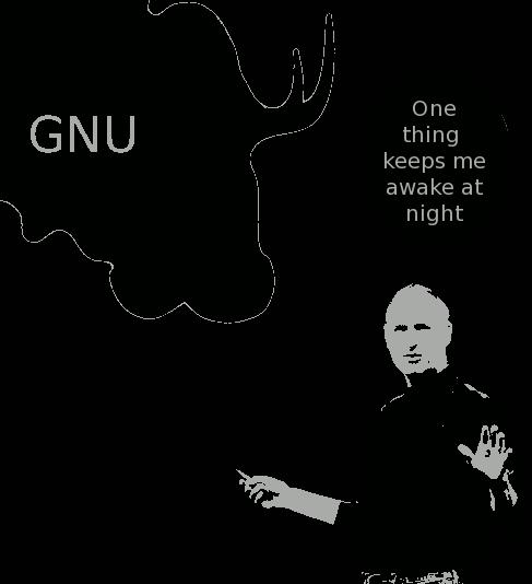 Steve Jobs and GNU