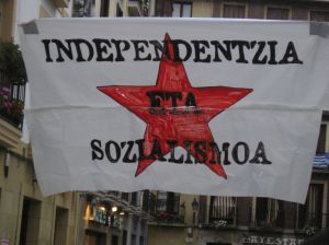 Socialism and independence for the Basque country
