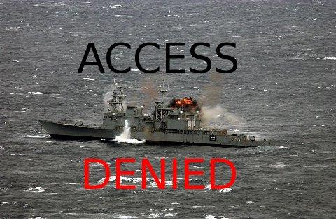 USS Hayler explodes