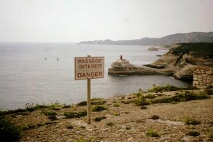 Danger sign - multilingual
