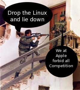 Apple snipers
