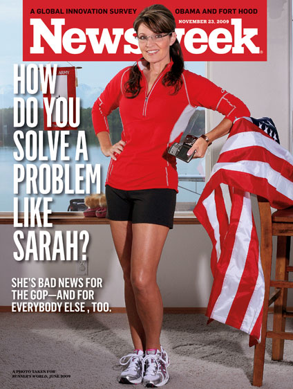 Newsweek's Palin cover