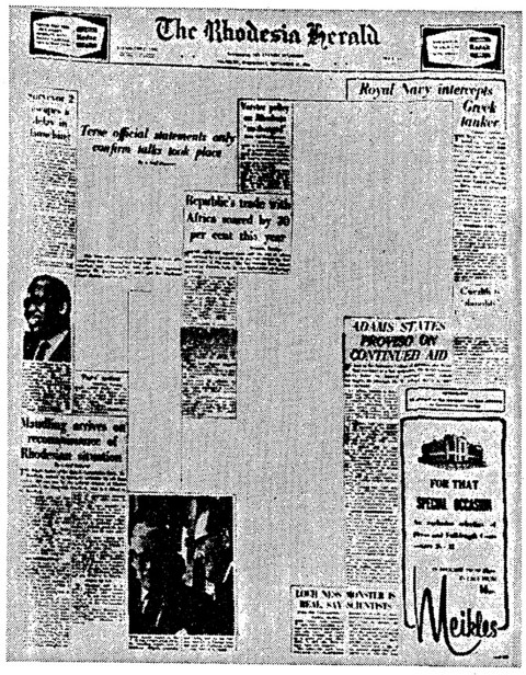 Censored Rhodesia Herald