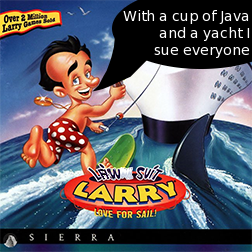 Leisure Suit Larry Ellison