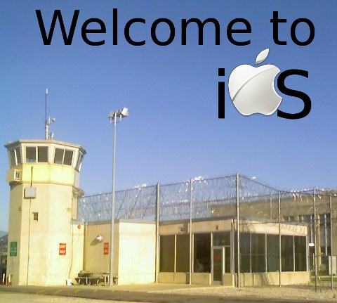 Utah State Prison Wasatch Facility with Apple