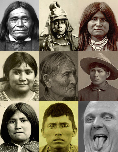 Apache people portraits and Ballmer stuck inside